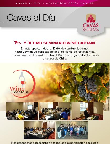 7o Seminario de Capacitación Wine Captain